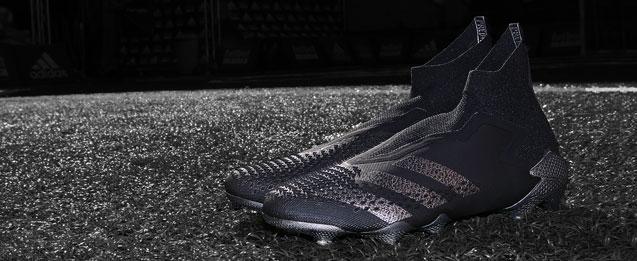 Botas de fútbol adidas colección Shadow Beast color negras.