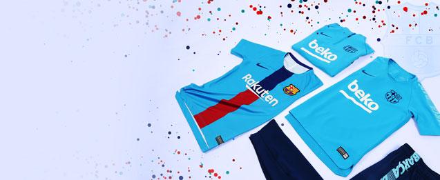 Entre esta ropa FC Barcelona niños encuentra la ropa Barça niños que buscas