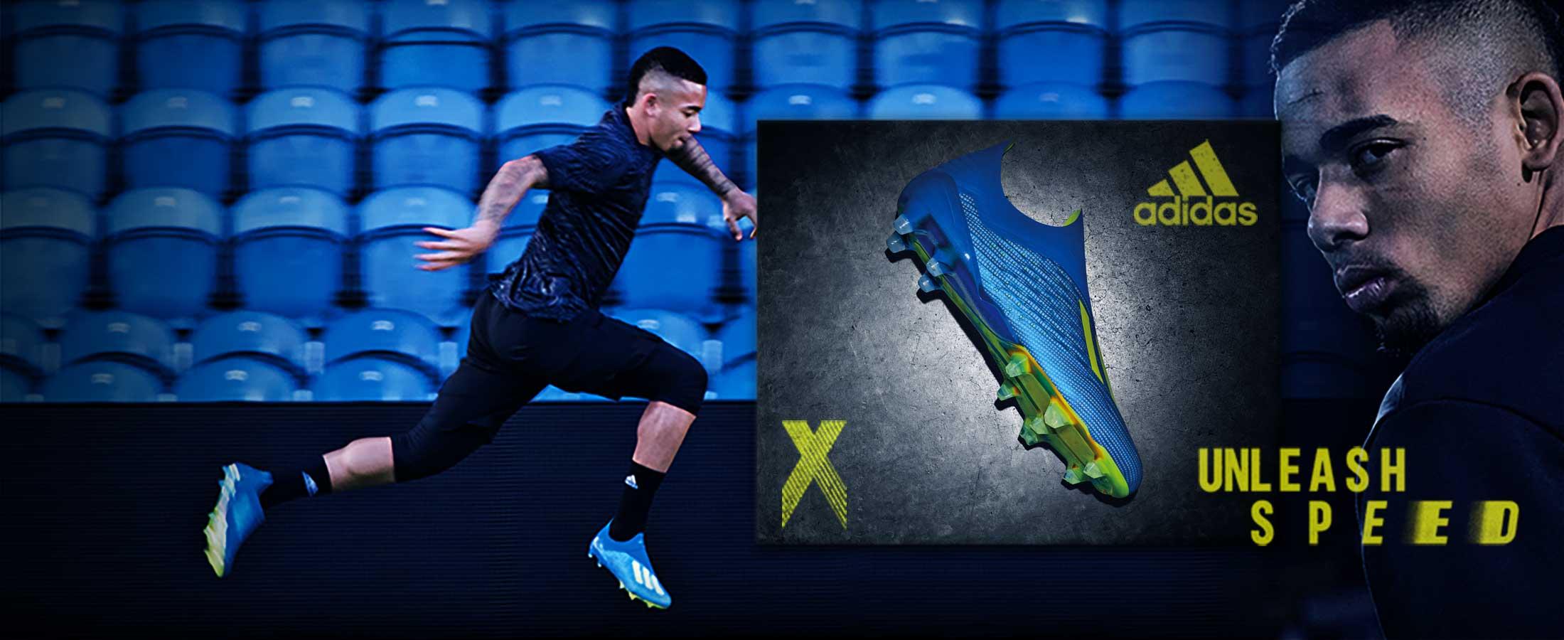 Nuevas botas de fútbol adidas X para niño