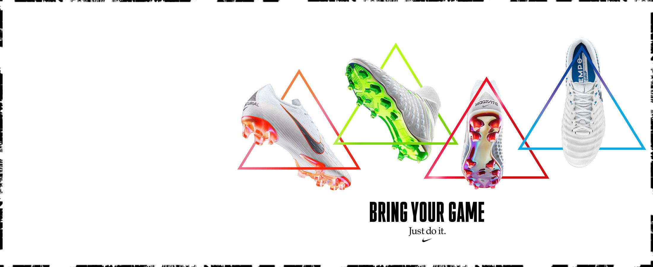 Nueva colección de botas de fútbol Nike Just Do It