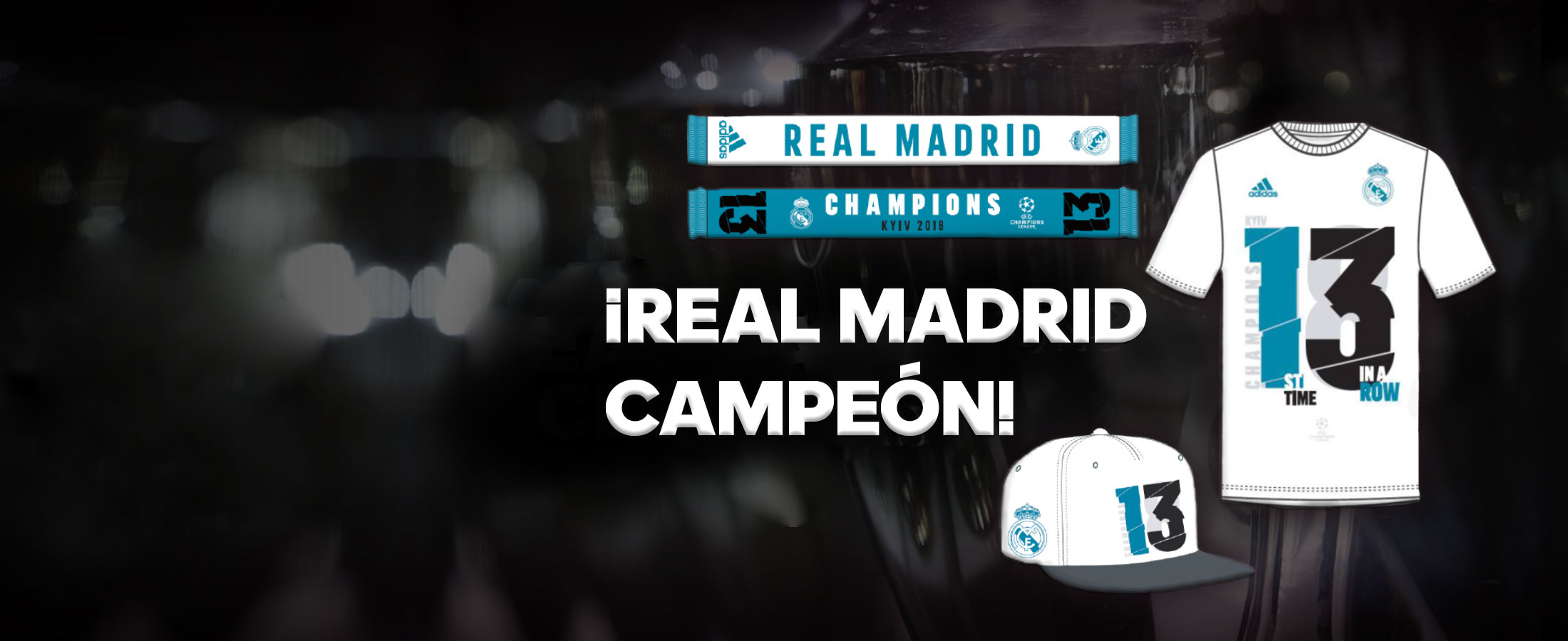 Camiseta Real Madrid 13 Champions