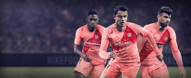 Tercera equipación Barcelona 2019 niño