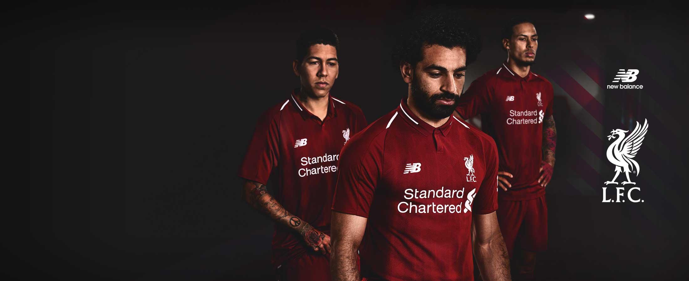 Equipación oficial Liverpool 2019