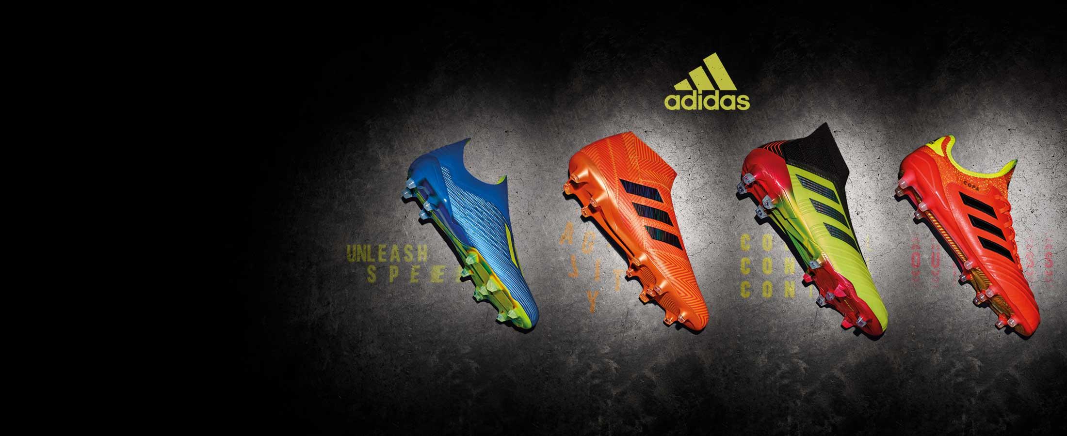 Nuevas colección botas de fútbol adidas Energy Mode