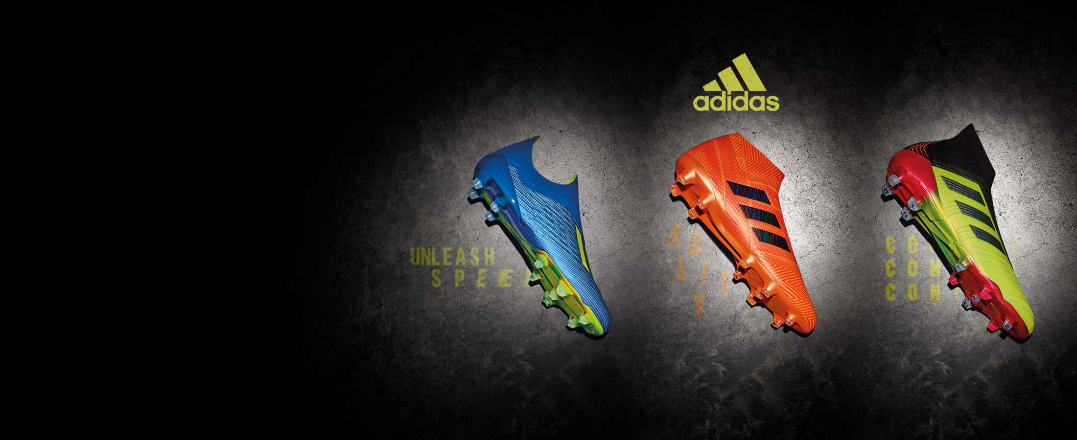 Nuevas colección botas de fútbol adidas Energy Mode niño