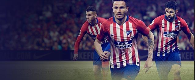 Equipación oficial Nike del Atlético de Madrid 2019