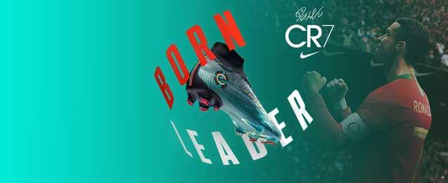 Botas de fútbol Nike CR7