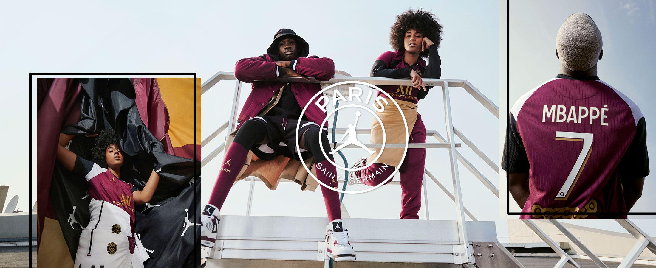 Disponibles a partir del 10/10 la nueva tercera equipación Nike del Paris Saint-Germain 2020 - 2021.