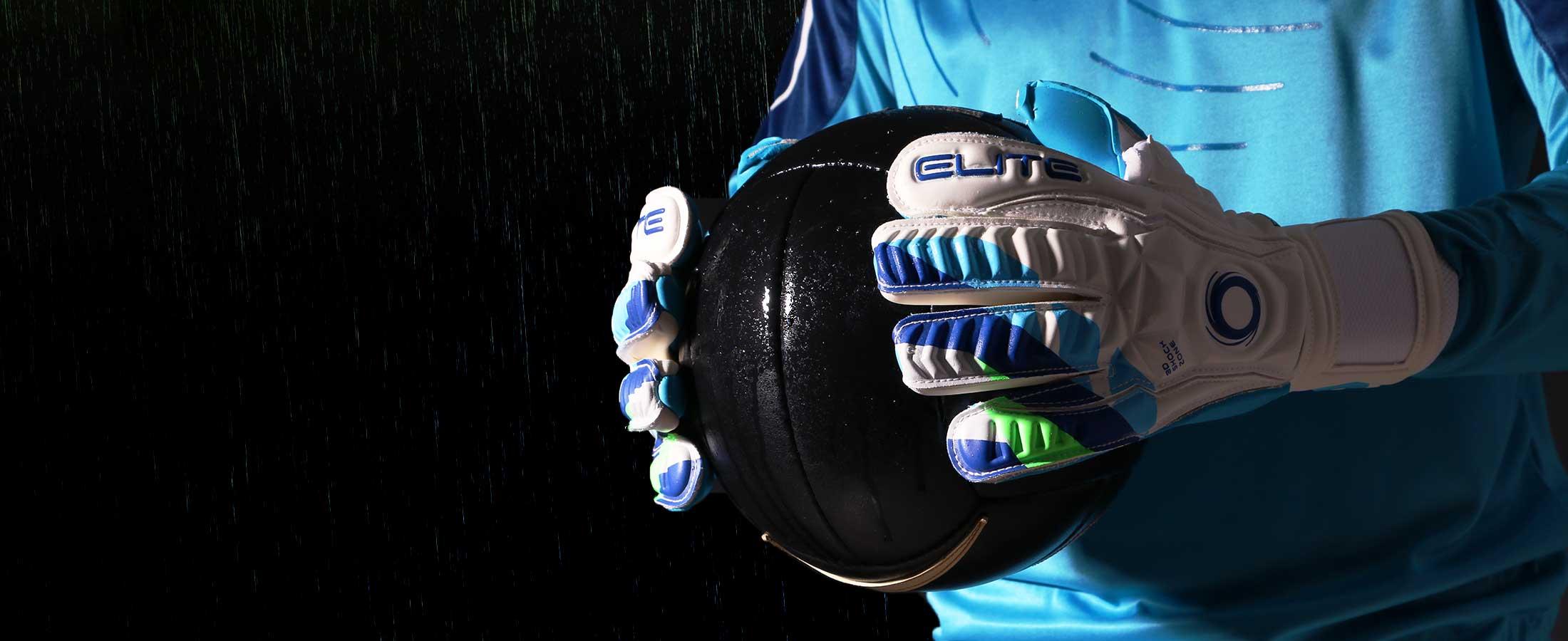 Ropa de portero de fútbol agarre mojado