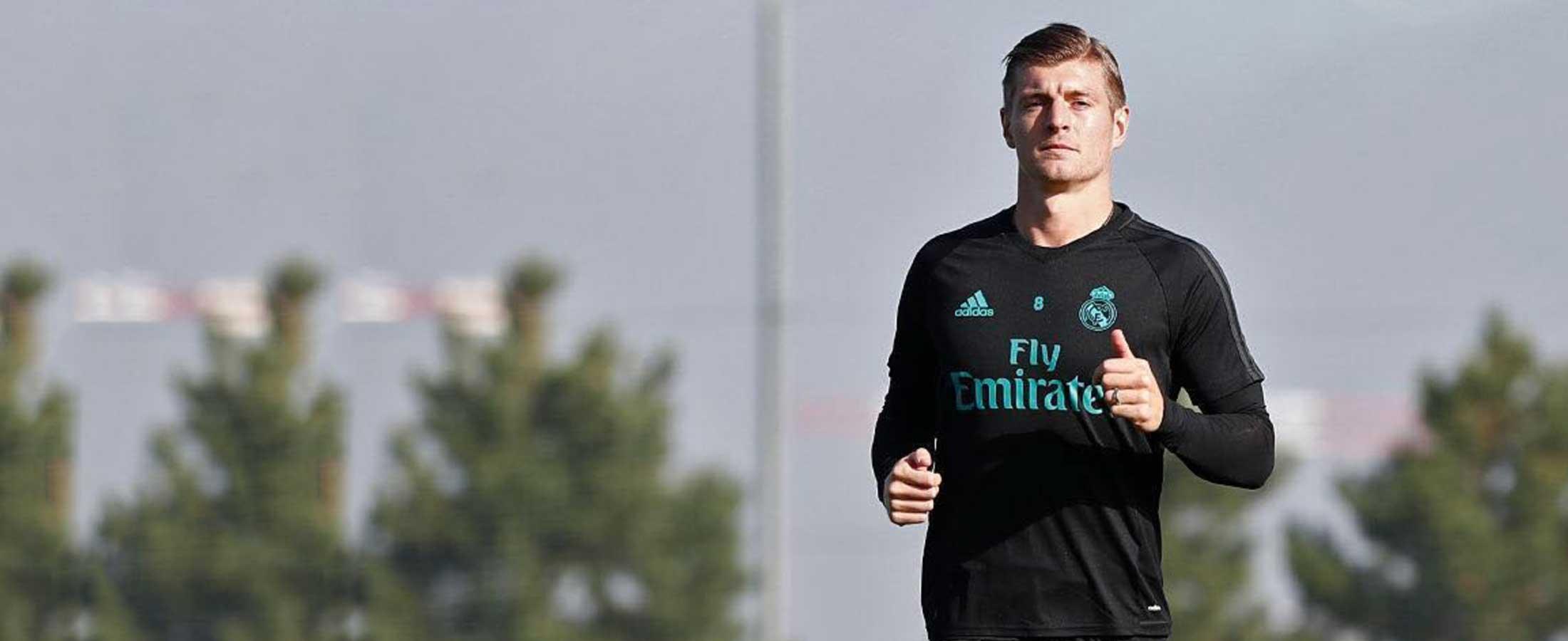 Ropa de entreno oficial del Real Madrid