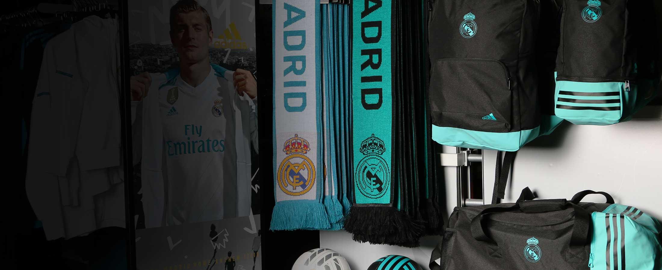 Complementos oficiales del Real Madrid