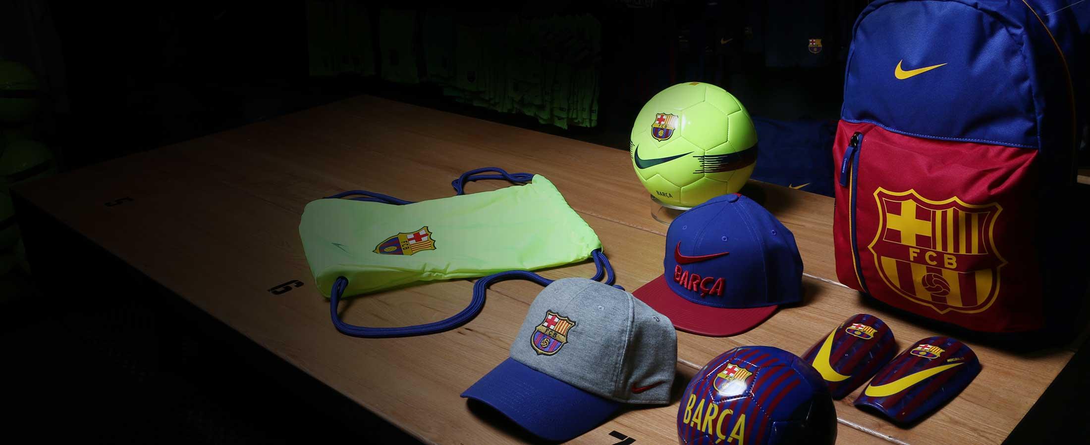 Complementos oficiales del FC Barcelona