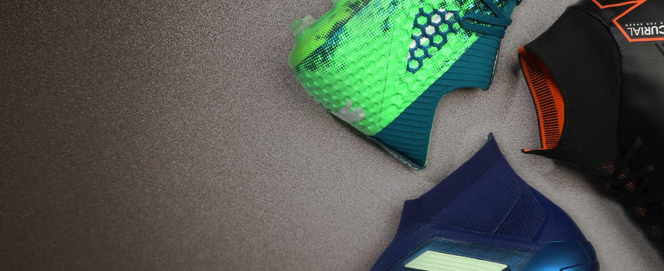 Botas fútbol con tobillera