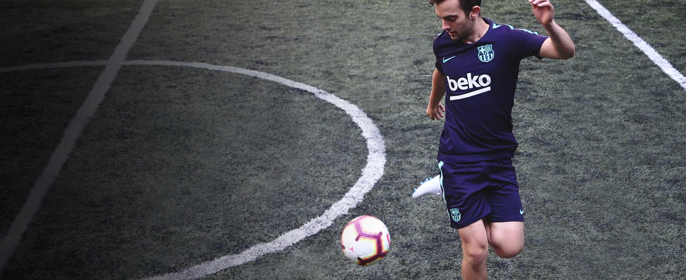 Ropa de entreno oficial del FC Barcelona