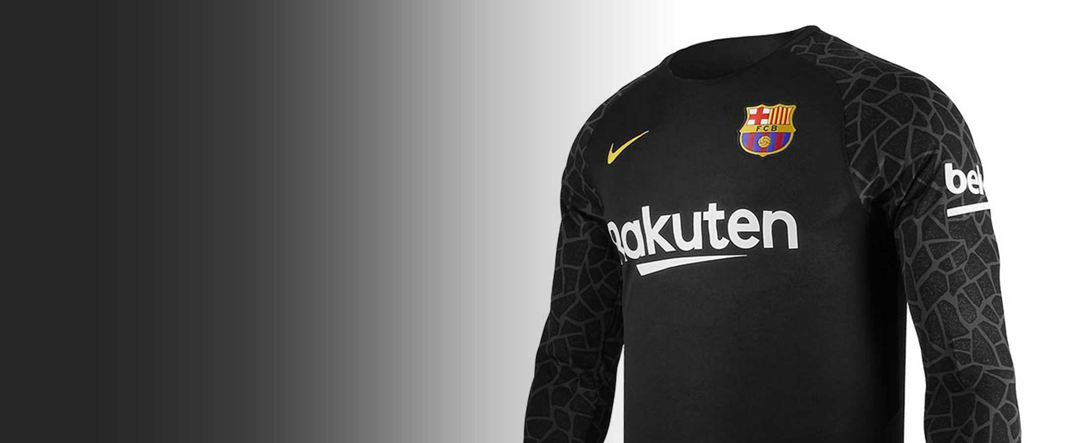Equipaciones oficiales de portero del FC Barcelona