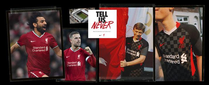 primera y segunda equipacion del Liverpool FC en futbolmania
