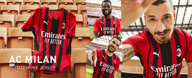 Camiseta de la primera equipación 2022 AC Milan para adulto