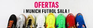 Todas las ofertas en zapatillas de munich futbol sala lo encuentras aquí, en todos los colores que mas te pueda gustar.
