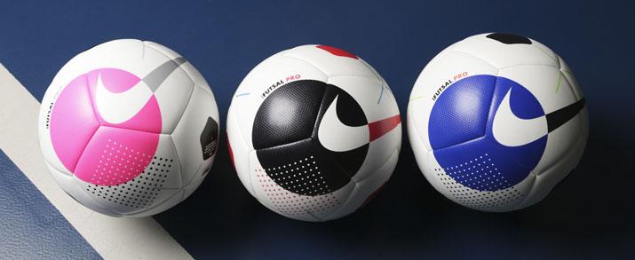 Lo útlimo de balones de fútbol sala marca Nike 2021