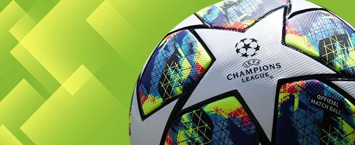 Nuevo balón de la Champions League 2020, llamativo diseño que combina el color blanco de las estrellas con una explosión de colores inspirada en los aficionados de la UEFA Champions League.