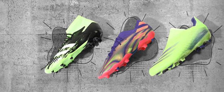 botas de fútbol adidas 202o coleccion uniforia Pack, predator y Messi