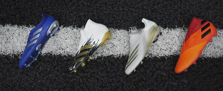 botas de fútbol adidas, coleccion Uniforia Pack