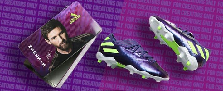 Las botas de fútbol de Messi para niño