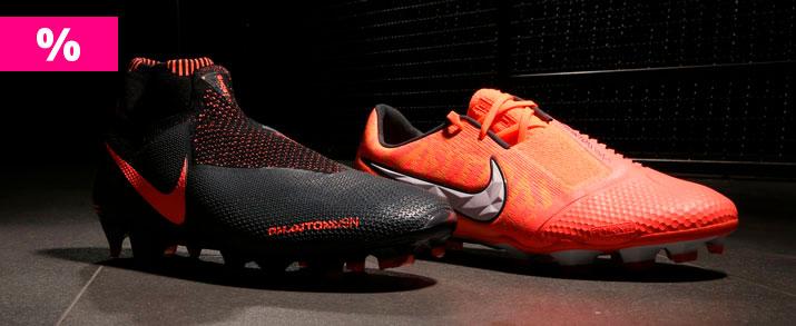 Rebajas de las botas de fútbol Nike Phantom, gran variedad de botas