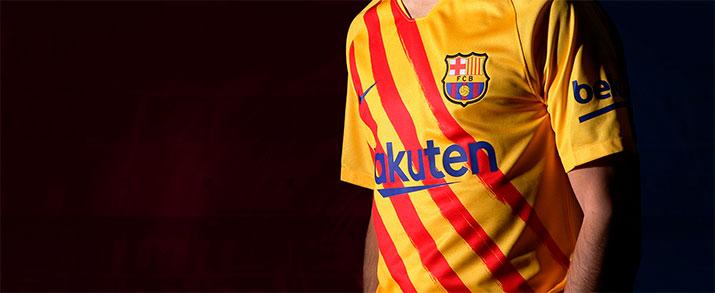 camiseta senyera fc Barcelona