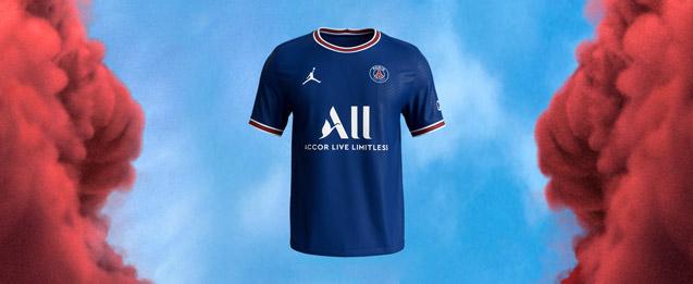 camiseta oficial primera equipación del PSG 2021 2022