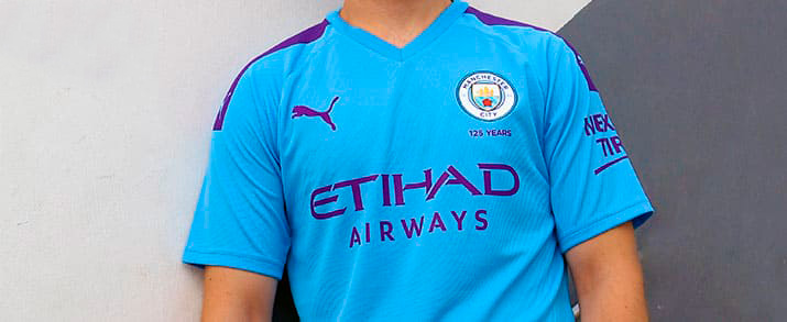 camiseta de la tercera equipación adulto 2020 Manchester City