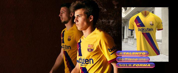 Encuentra todas las equipaciones infantil del Barcelona, entre ellas la nueva equipación oficial 2020, lo encuentras en futbolmania
