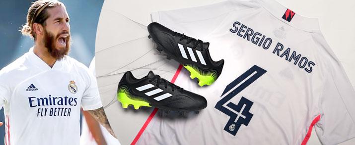 Bodegón de productos del jugador de Real Madrid Sergio Ramos