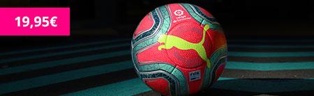 balón de fútbol la liga rosa de invierno marca Puma ofertado para niños