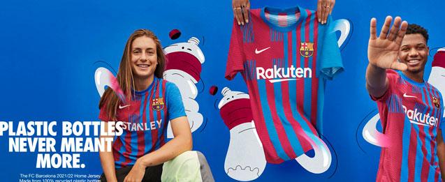 Encuentra las nuevas equipaciones del FC Barcelona, para la temporada 2021 - 2022, todo lo que necesitas lo encuentras en futbolmania.