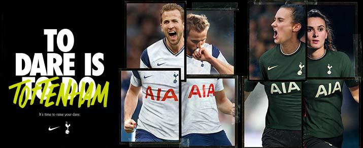camiseta primera y segunda equipación 2021 Tottenham